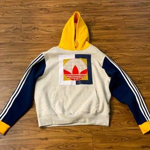 "***Moving Sale*** Multicolor Adidas ""around the world"" hoodie"